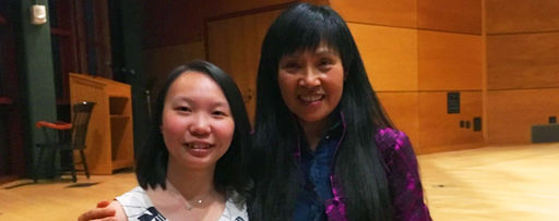 Chinese-American Writer Anchee Min Visits Hotchkiss