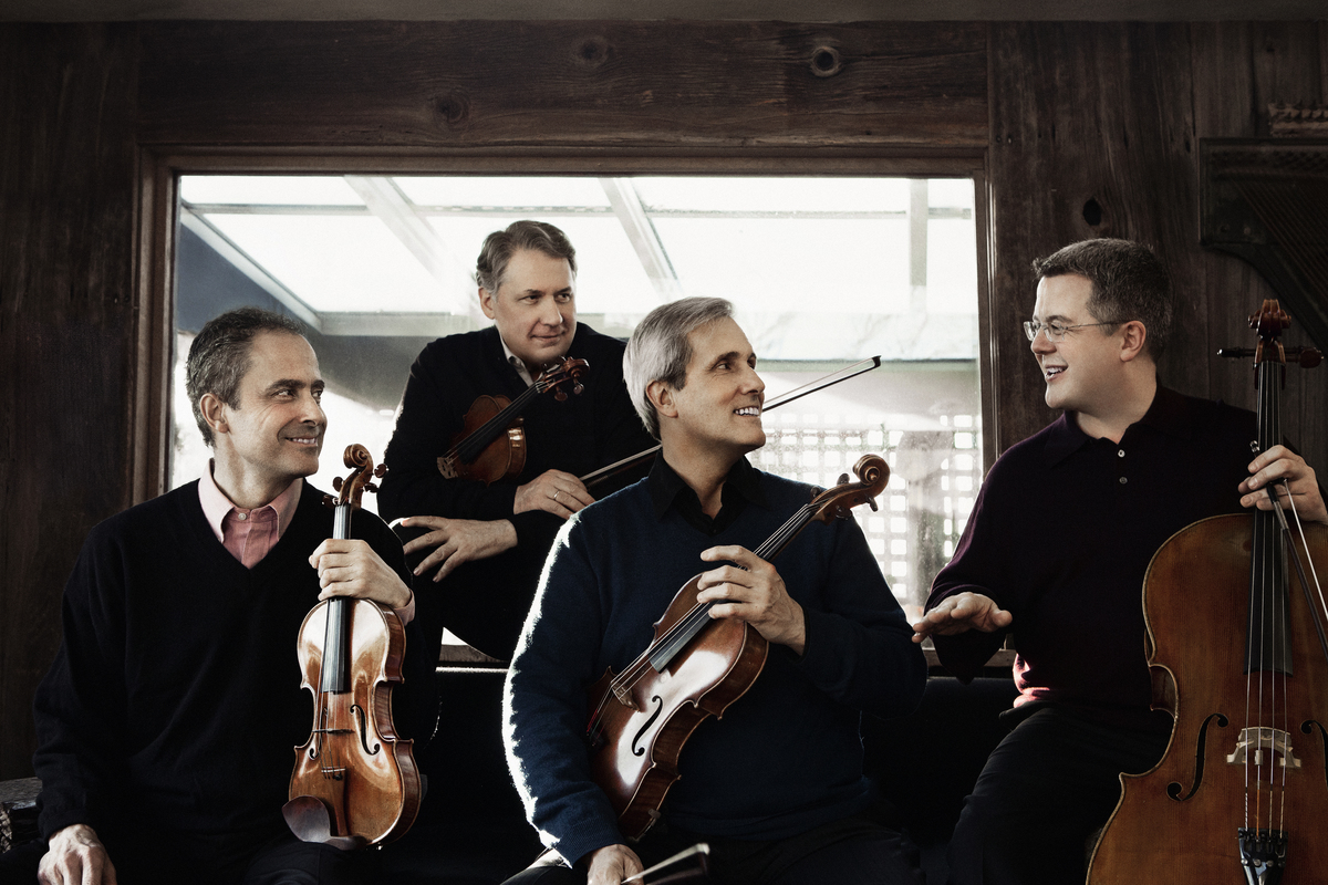 Emerson String Quartet Performs at Hotchkiss May 13