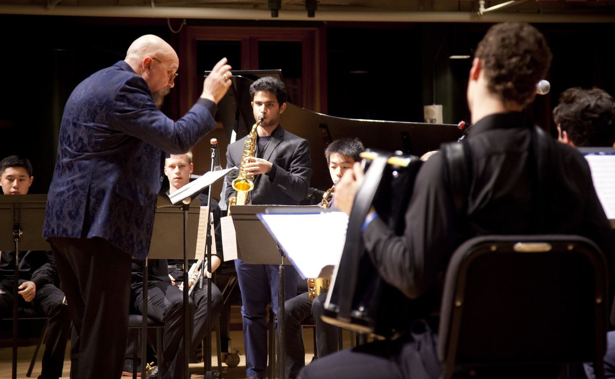 Hotchkiss Orchestra and Right Brain Logic Jazz Ensemble perform May 26