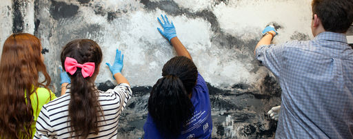 Creating a Masterpiece out of Handprints, Hotchkiss Celebrates Visual Arts