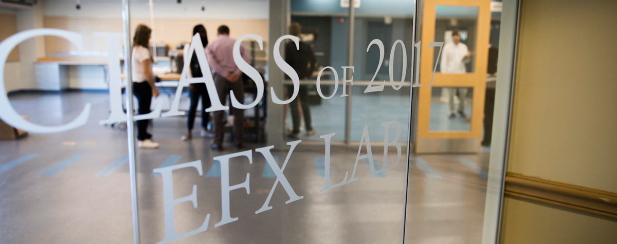 Welcome to the Class of 2017 EFX Lab