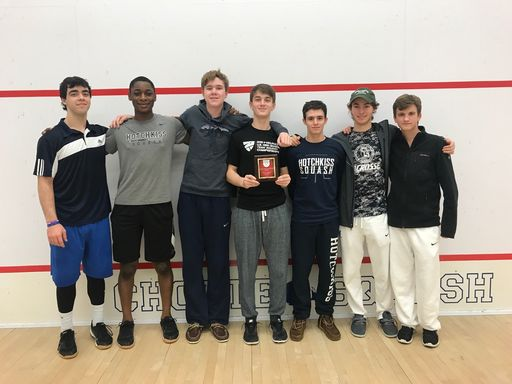 Boys, Girls Squash Place Fifth at New Englands
