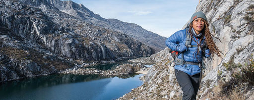 The Call of the Wild:  An Alumna Pushes Herself to the Limits
