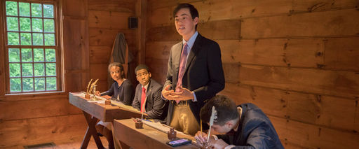 At the First Law School in the Country, Debaters Tackle a Contemporary Issue
