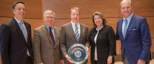 "William C. ""Bill"" Ford Jr. '75 Accepts Hotchkiss's 2018 Alumni Award"