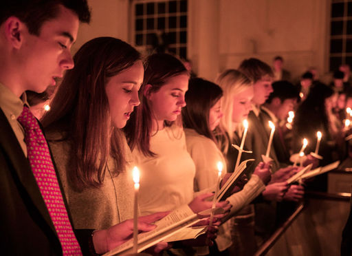 59th Annual Festival of Lessons and Carols: Dec. 2 in the Hotchkiss Chapel